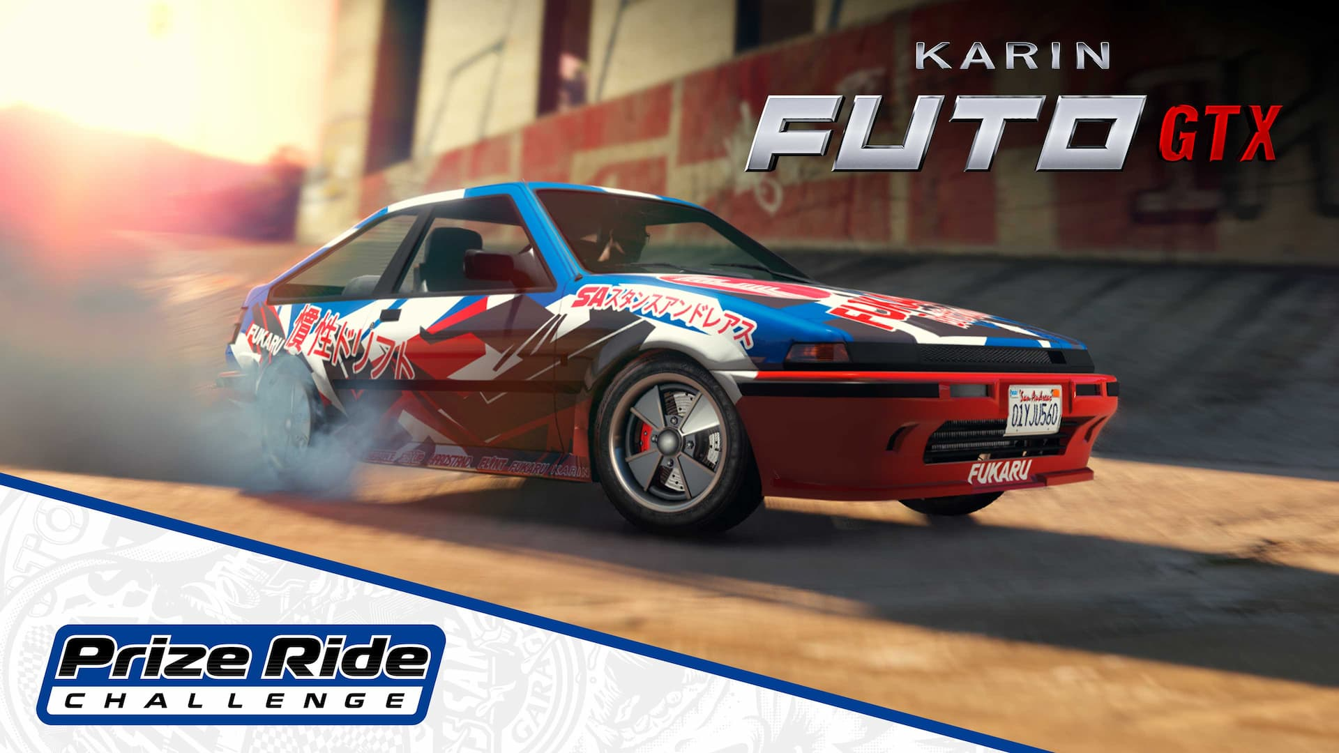 GTA Online Prize Ride Futo GTX